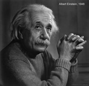 Albert Einstein Ünlü Yüzler Kanvas Tablo