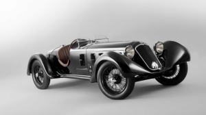 Alfa Romeo Eski Klasik Otomobiller Poster Arabalar Araclar Kanvas Tablo