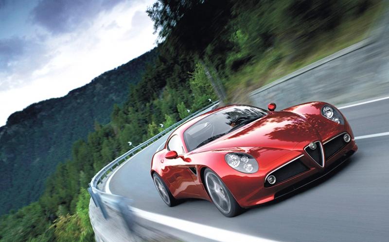 Alfa Romeo Otomobil Araçlar Kanvas Tablo