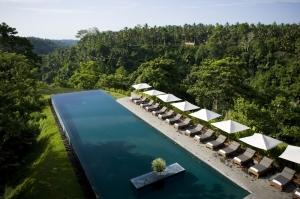 Alila Ubud Bali Endonezya Orman Doğa Manzaraları Kanvas Tablo