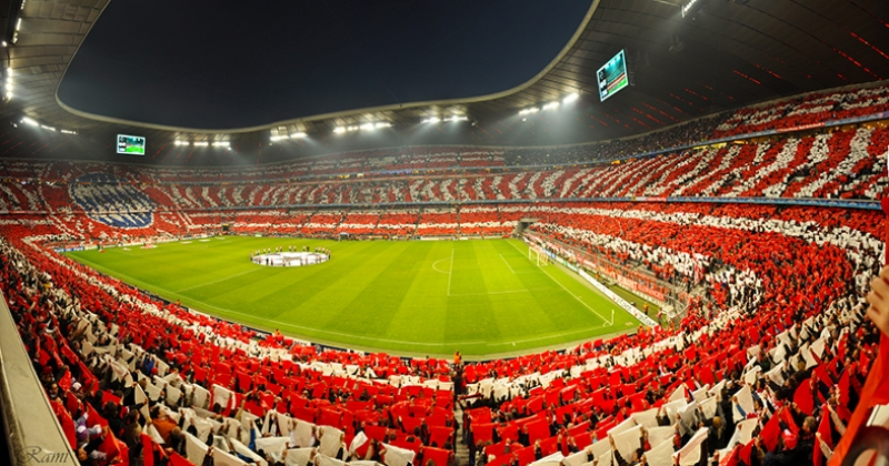 Allianz Arena Bayern Munich Stadyum Futbol Kanvas Tablo