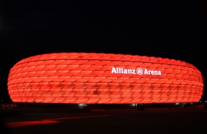 Allianz  Arena Spor Kanvas Tablo