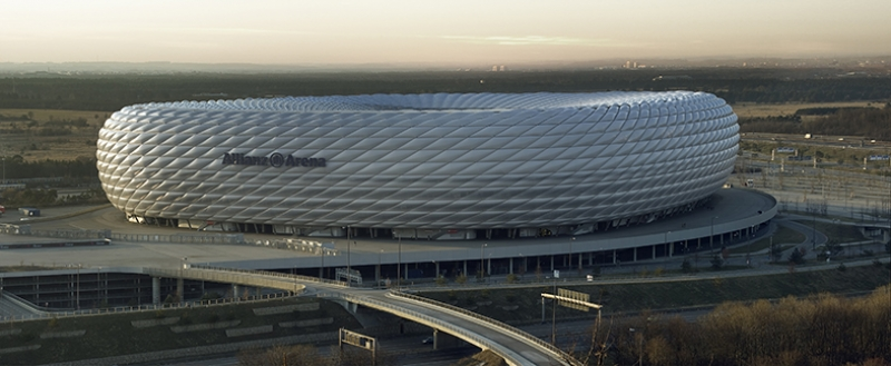 Allianz  Arena Stadyumu Spor Kanvas Tablo