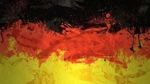 Almanya Bayrak Kanvas Tablo