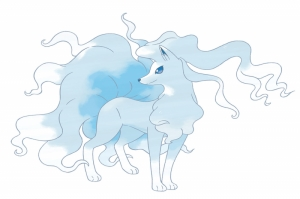 Alolan Ninetales Pokemon Karekterleri Pokemon Kanvas Tablo