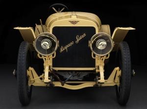 Altın Sarısı Klasik Araçlar Kanvas Tablo
