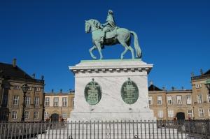 Amalienborg Unesco Dünya Kültür Mirasları Kanvas Tablo