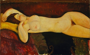 Amedeo Modigliani 1 NÜ Klasik Sanat Canvas Tablo