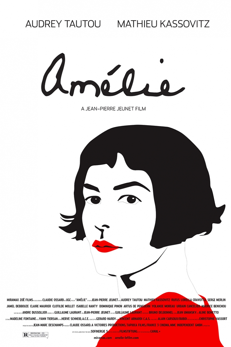 Amelie İllustrasyon