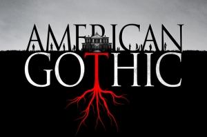 American Gothic Poster Kanvas Tablo