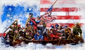 Amerikan Askerleri Popüler Kültür Kanvas Tablo