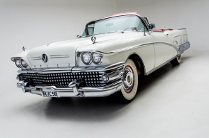Amerikan Klasik Otomobil Fotoğraf Kanvas Tablo