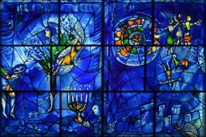 Amerikan Penceleri Dini Özgürlük-1 Marc Chagall 1975-77 Religious Freedom Klasik Sanat  Tablo
