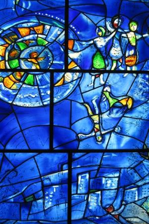 Amerikan Penceleri Dini Özgürlük-2 Marc Chagall 1975-77 Religious Freedom Klasik Sanat Tablo