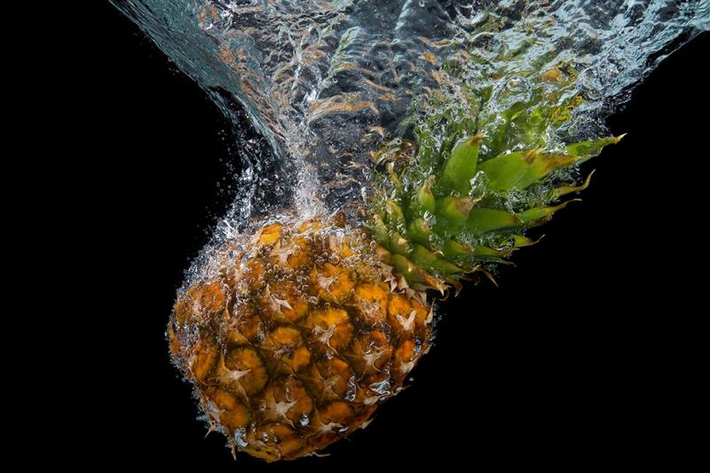 Ananas Lezzetler Kanvas Tablo