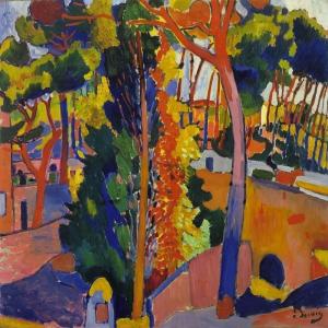 Andre Derain Riou Üzerindeki Köprü Manzara Klasik Sanat Canvas Tablo