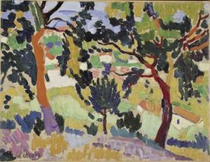 Andre Derain Yaz Doğa Manzara Klasik Sanat Canvas Tablo