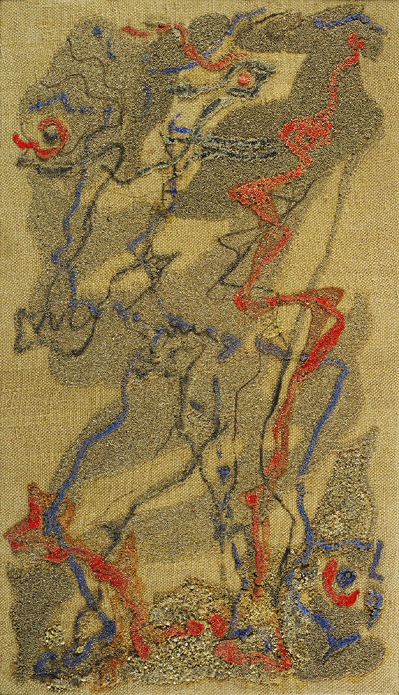 Andre Masson Figür Klasik Sanat Canvas Tablo