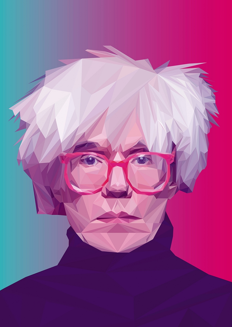 Andy Warhol Popüler Kültür Kanvas Tablo