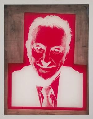 Andy Warhol Sidney Janis Portresi Klasik Sanat Kanvas Tablo