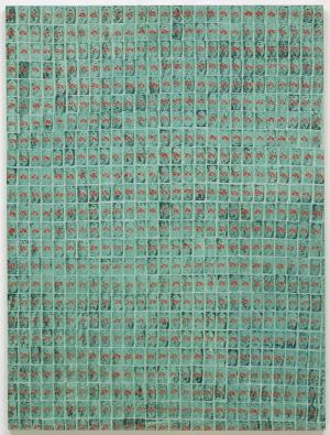 Andy Warhol Yeşil Damgalar Klasik Sanat Kanvas Tablo