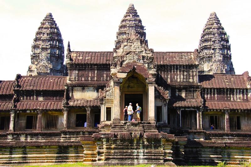 Angkor Wat Unesco Dünya Kültür Mirasları Kanvas Tablo
