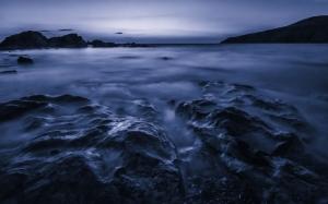 Anglesey Sahil İngiltere Doğa Manzaraları Kanvas Tablo