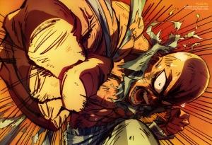 Anime Dövüşçü Popüler Kültür Kanvas Tablo