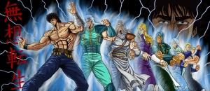 Anime Dövüşcüler Bebek & Çocuk Dünyası Kanvas Tablo