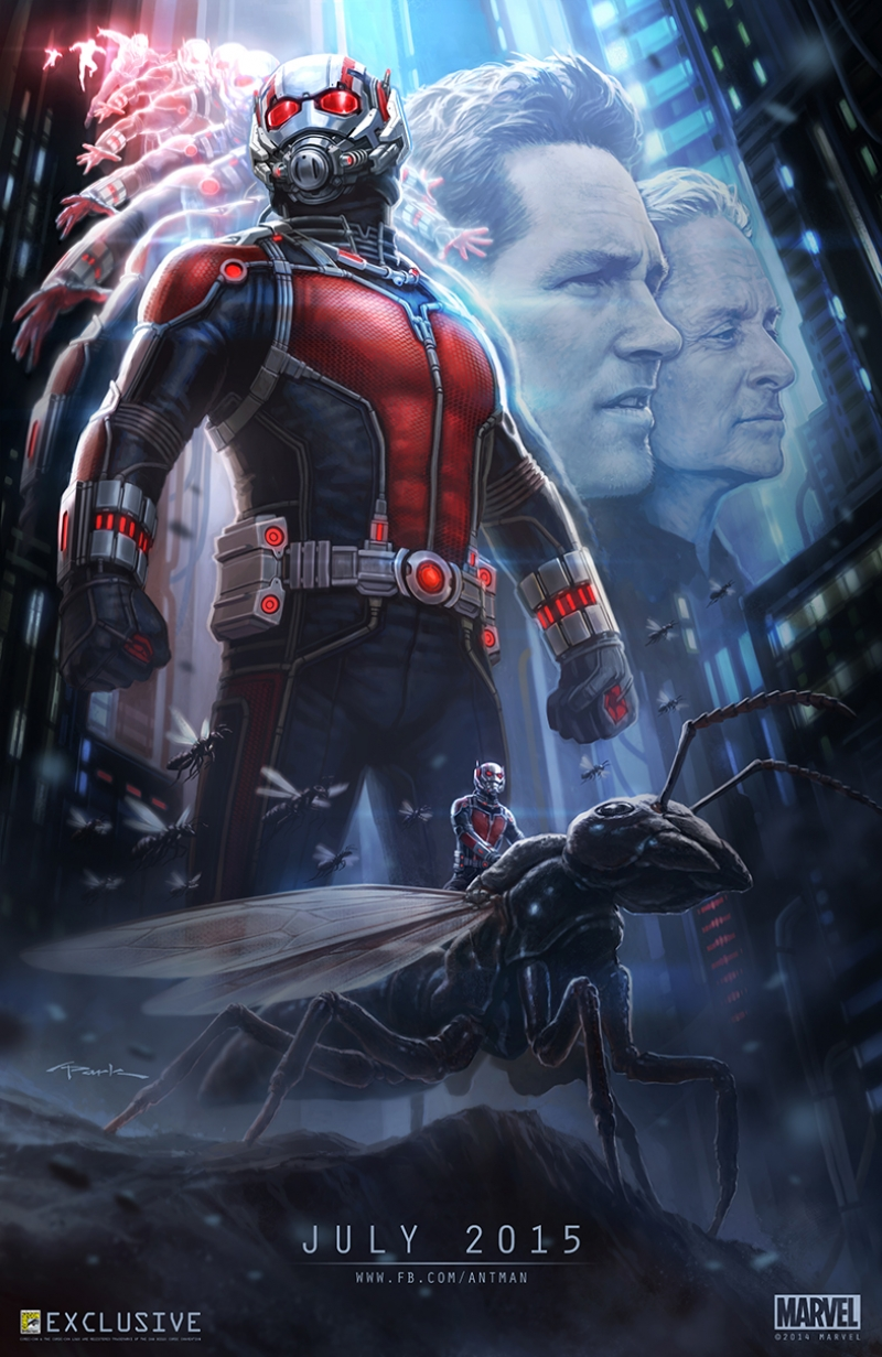 Ant Man Karınca Adam Marvel Afiş Kanvas Tablo 2