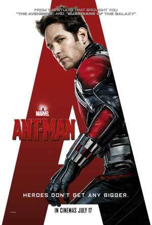 Ant Man Karınca Adam Marvel Afiş Kanvas Tablo