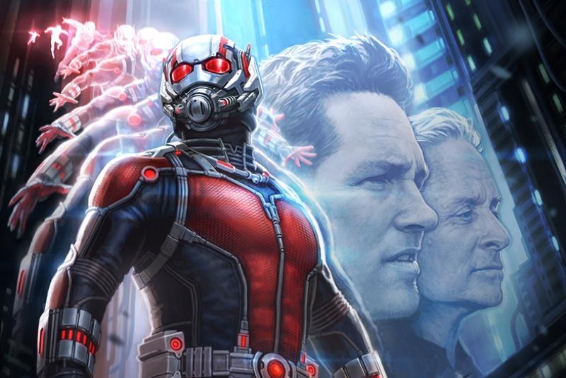 Ant Man Karınca Adam Süper Kahramanlar Kanvas Tablo
