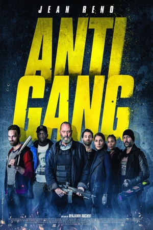 Anti Gang Film Afişi Sinema Kanvas Tablo