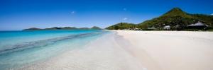 Antik Barbuda Sahilleri Doğa Manzaraları Kanvas Tablo