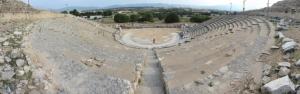 Antik Tiyatro Panaromik Kanvas Tablo