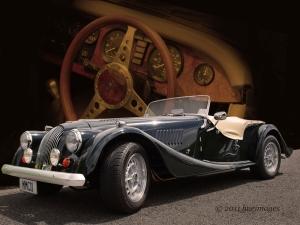 Antika Efsane Otomobiller MMC11 Amerikan Klasik Arabalar Araclar Canvas Tablo