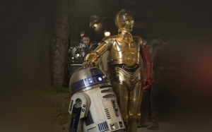AO79 Starwars R2D2 Robot Film Popüler Kültür Kanvas Tablo
