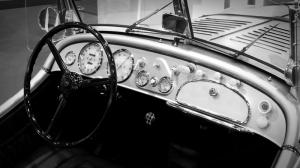 Arabanın İçi Araçlar Kanvas Tablo