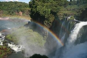 Argentina Cataratas Del Iguazu 2 Doğa Manzaraları Kanvas Tablo