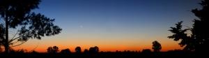 Argentina Panaroma Panaromik Manzara Gün Batımı Kanvas Tablo