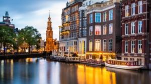 Armsterdam Dünyaca Ünlü Şehirler Kanvas Tablo