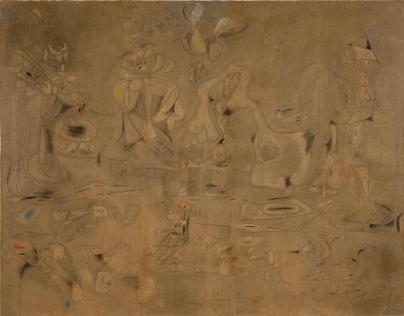 Arshile Gorky Toplama Klasik Sanat Kanvas Tablo