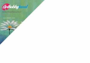 Art Hobby Tuval - 25cm x 50cm