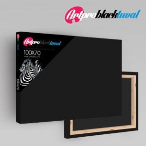 Art Pro Black Tuval - 15cm x 15cm