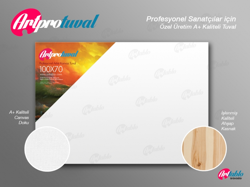 Art Pro Tuval - 150cm x 40cm