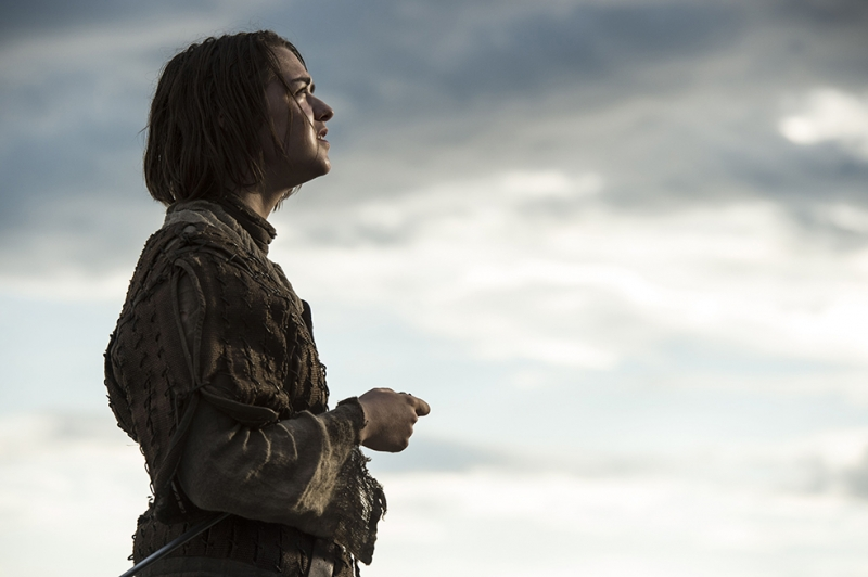 Arya Stark Game Of Thrones Popüler Kültür Kanvas Tablo