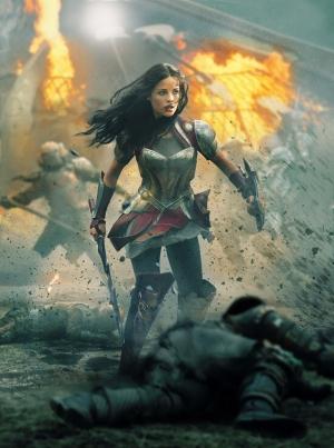 Asgardlı Savaşçı Thor Popüler Kültür Kanvas Tablo
