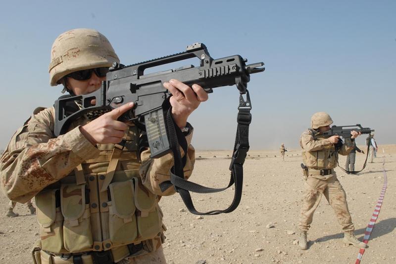 Asker 4 Askeri Kanvas Tablo