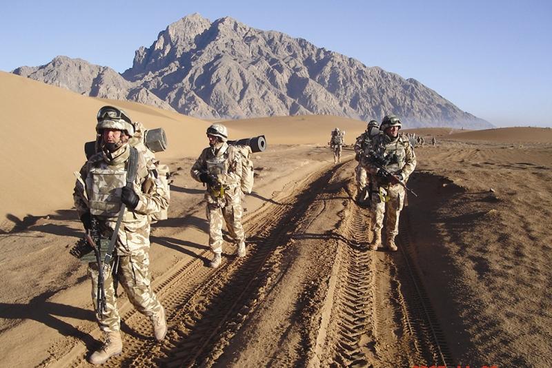Askerler 2 Askeri Kanvas Tablo