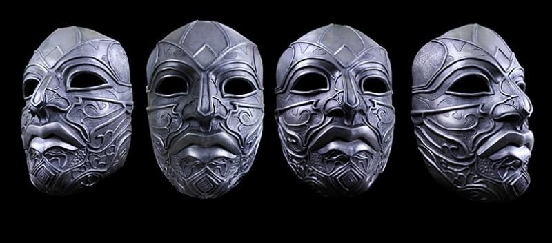 Assassins Creed Türk Maskeleri Fotoğraf Kanvas Tablo
